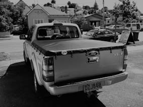 Ford XLT new ute cover.